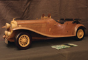 Classic car woodcarving