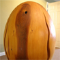 Egg woodcarving by MK Carving Canada