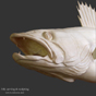 Walleye pickerel carving