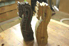 progress2 carved tap handle