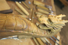progress4 carved tap handle