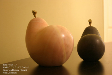 Stone pears 1